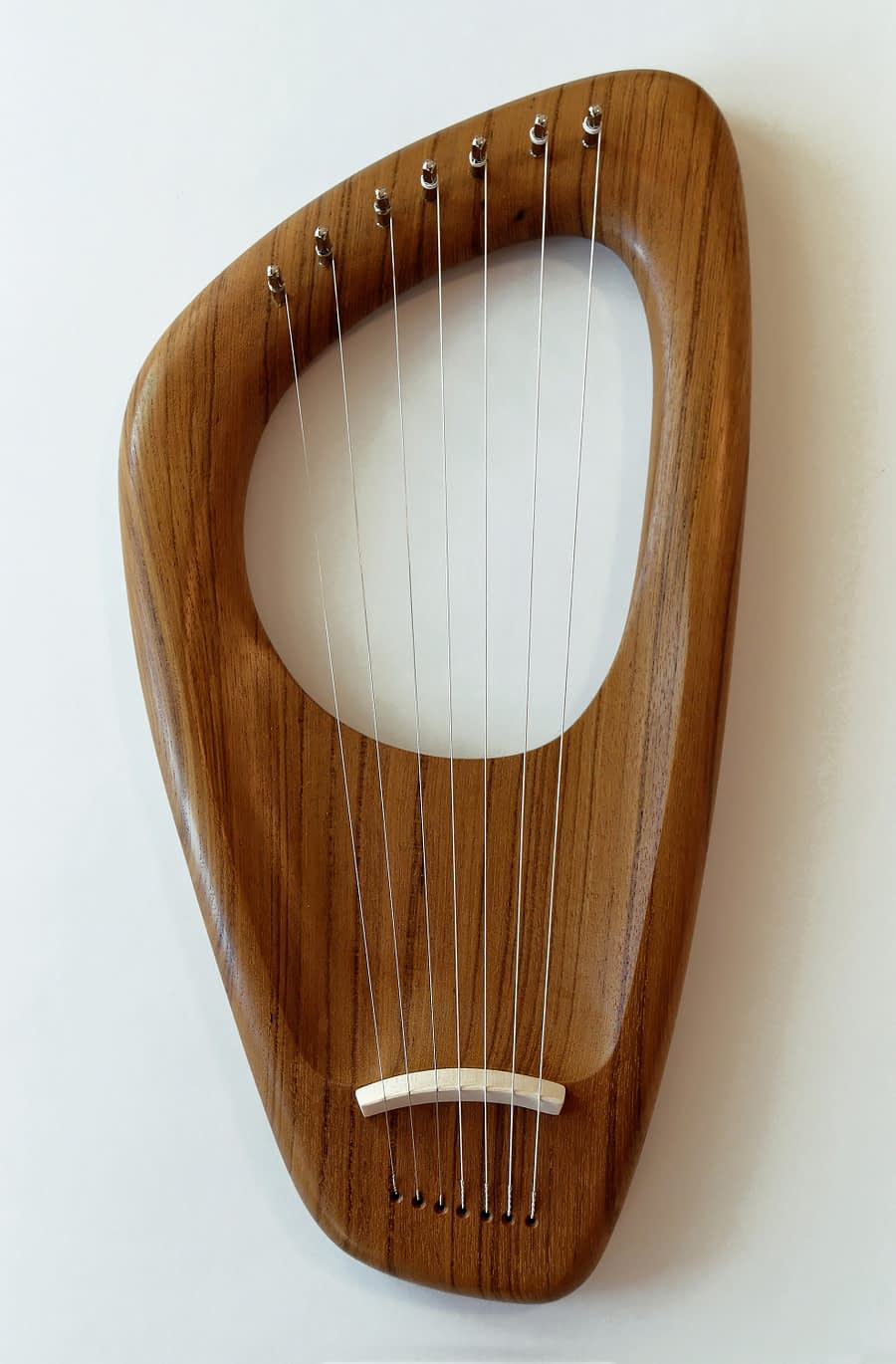 Walnut 7 String Pentatonic Lyre
