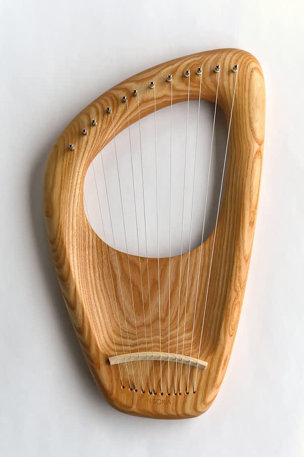 12 string diatonic lyre